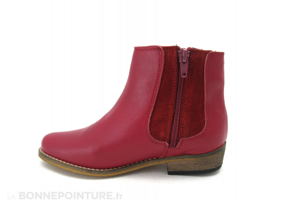 Onky Boots fille Rouge 32448 3