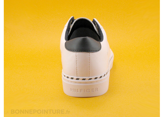 Tommy Hilfiger FW0FW04783 White - Elastic sneakers - Basket 4