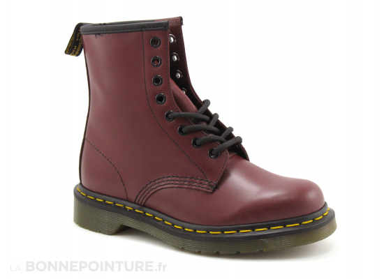 Dr Martens 1460 Cherry red 10072600 smooth - Boots 5
