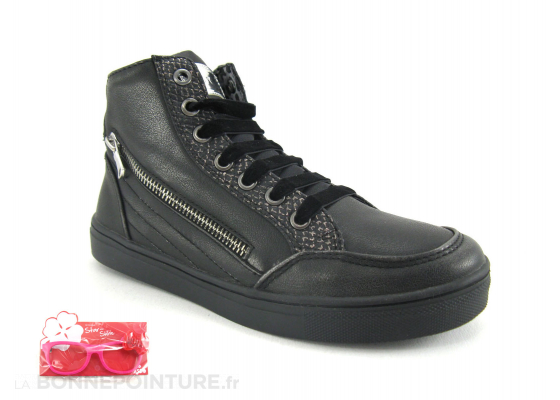 Asso Shoes D-3291 Nero Sneakers montantes 1