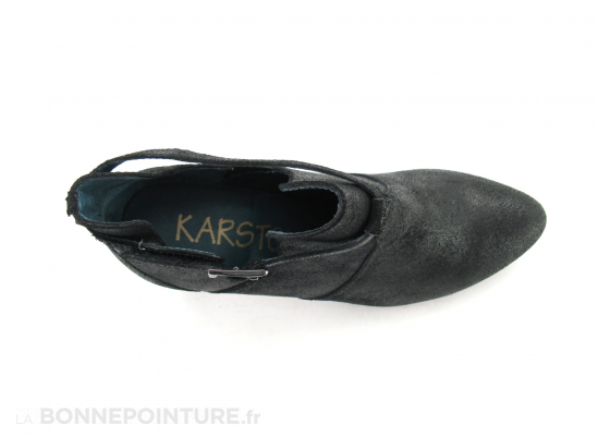 Karston Avion 44 332 103 Noir escarpin 6
