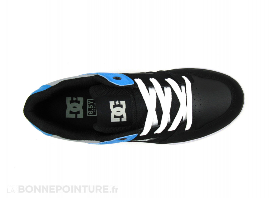 DC Shoes Youth PURE Black Bright royal Basket 6