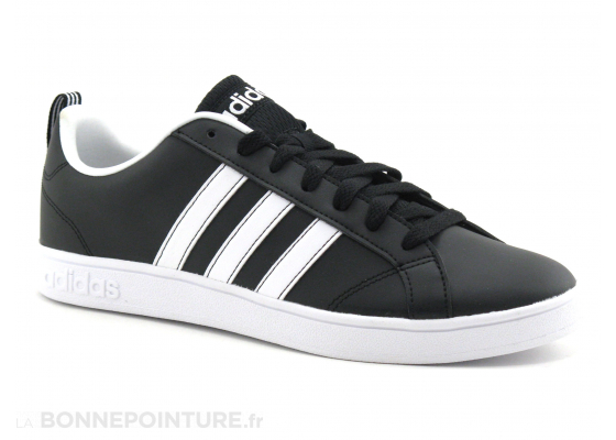 Adidas VS Advantage F99254 - NOIR - Bandes blanches - Basket 1