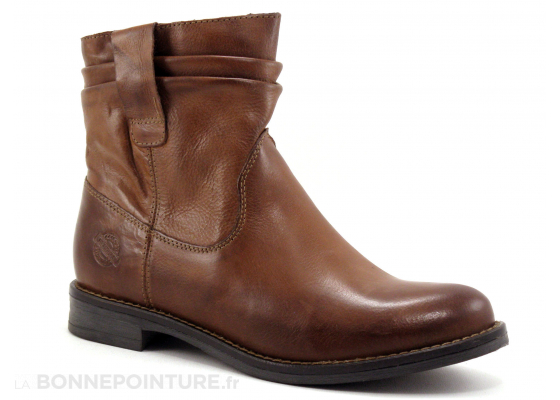Com Un Point Adchire Marron Boots WH-059H01 5