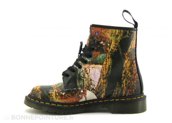 Dr Martens 1460 Black Sabbath 26315102 multi black - Bottine F 3