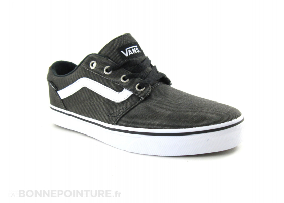 Vans Chapman Stripe Black White 1
