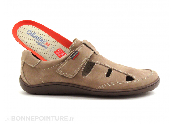 Callaghan 80902 chaussure ouverte beige taupe 5
