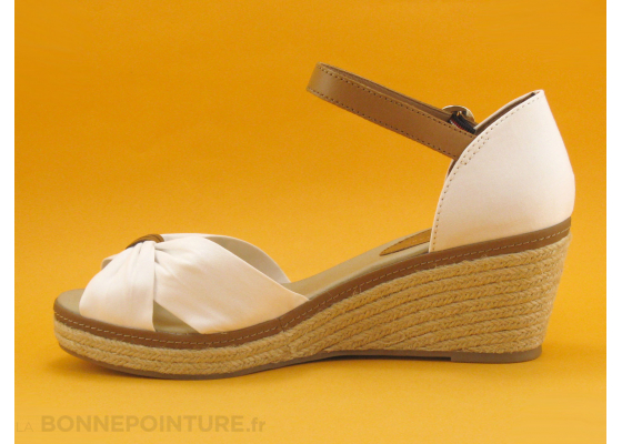 Tommy Hilfiger FW0FW00906 Iconic Elba Whisper White - Nu-pieds 3
