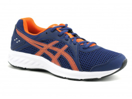Asics JOLT 2 GS Indigo blue - Nova Orange - Basket sport Jr