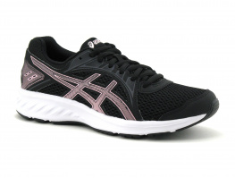 Asics JOLT 2 Black Cotton candy - 1012A151 - Basket running Femme