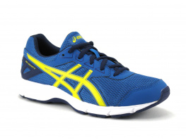 Asics Gel Galaxy 9GS C626N Thunder Blue Vibrant Yellow Indigo