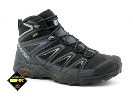 Salomon X Ultra 3 mid Gore-Tex - Blk india ink - Basket montante