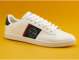 Teddy Smith TURBO - White Deep - Sneakers mode Homme