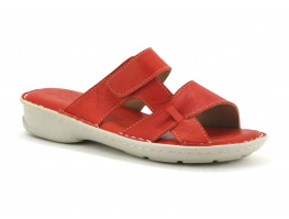Com un Point MAGARDA - Mule femme cuir rouge