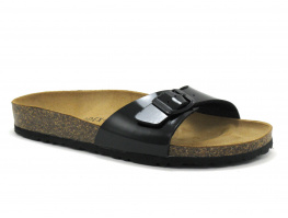 Biomodex 1837 verni noir mule reglable