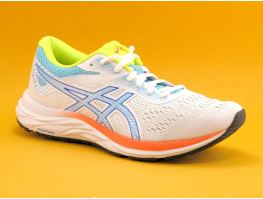 Asics GEL EXCITE 6 SP White Ice mint - Basket Sport Femme