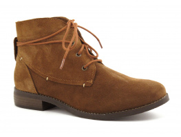 Fricote B-2143 Bison - Chaussure montante marron