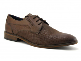 Point d Orgues PORI Marron - Chaussure habillee Homme