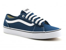 Vans FILMORE Decon Bleu sailor - Basket Homme