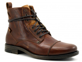 Levis EMERSON 225115 - Leather Medium brown - Boots H