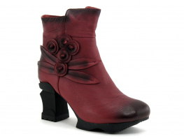 Laura Vita Limited - ARMANCE - 16 Wine - MY8062-6 - Boots Bordeaux
