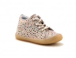 Bellamy PRINCESSE Bubble rose Multicolore - Chaussure montante fille
