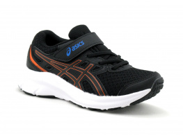 Asics JOLT 3 PS -1014A198 Black Reborn blue - Basket sport enfant