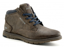 Mustang Shoes 4105 506 306 Cafe - Boots Homme
