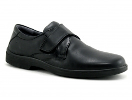 Sledgers BENEDICT 001LN Black - Chaussure Homme velcro