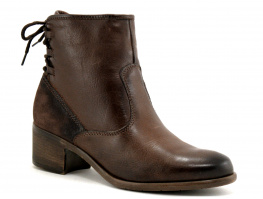 Com un Point ADVILLA marron - Lacet arriere - Boots fourree