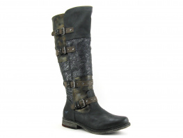 Mustang 1295-608 259 Graphit - Boots western Femme