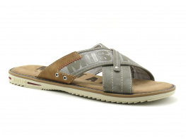 Mustang 4152 703 318 Gris taupe - Mule Homme