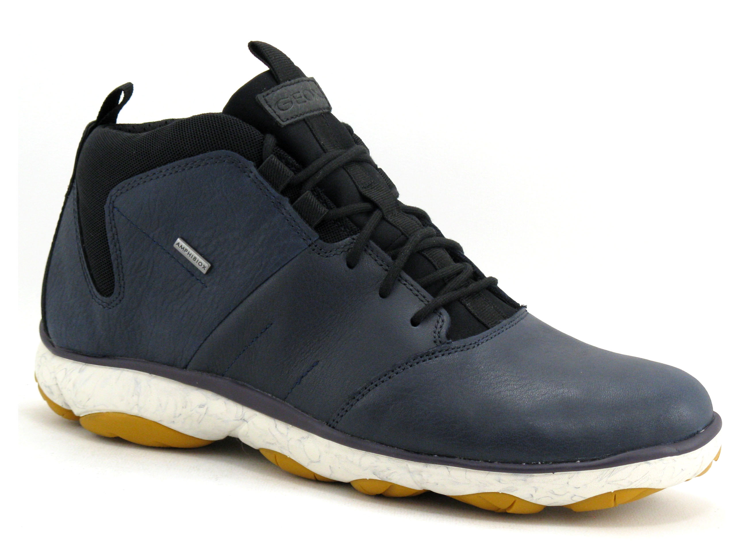 Boots homme geox u742va nebula navy - basket...